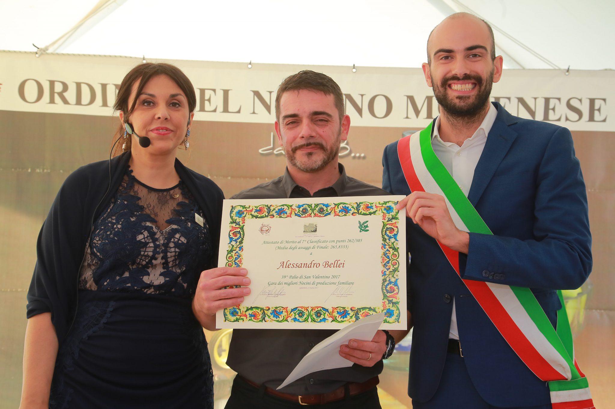 7° Classificato: Alessandro Bellei