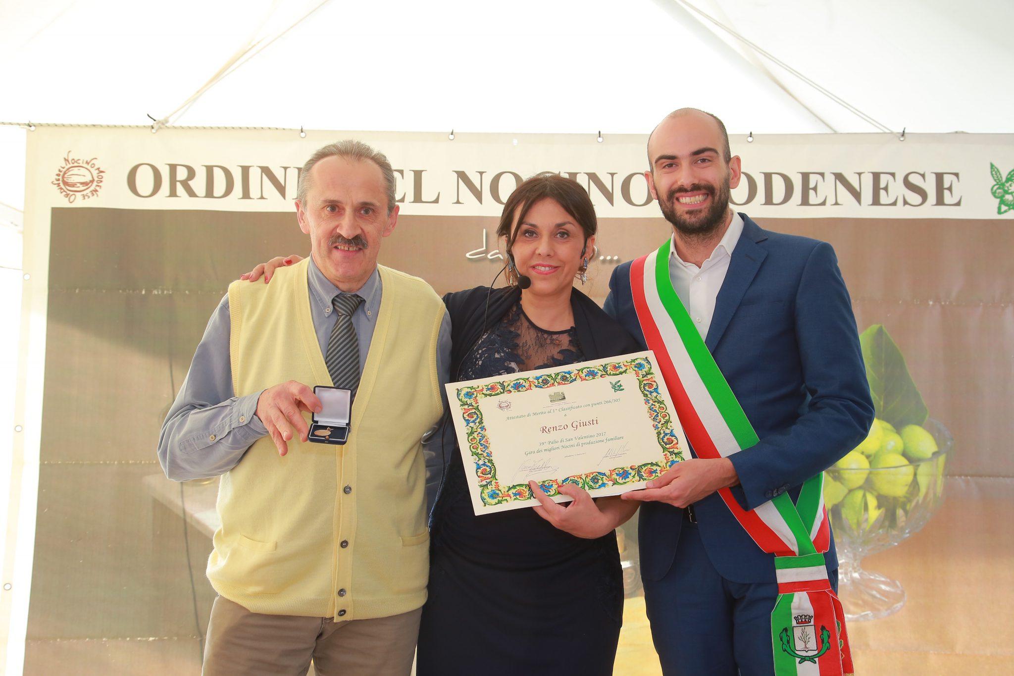 1° Classificato: Renzo Giusti