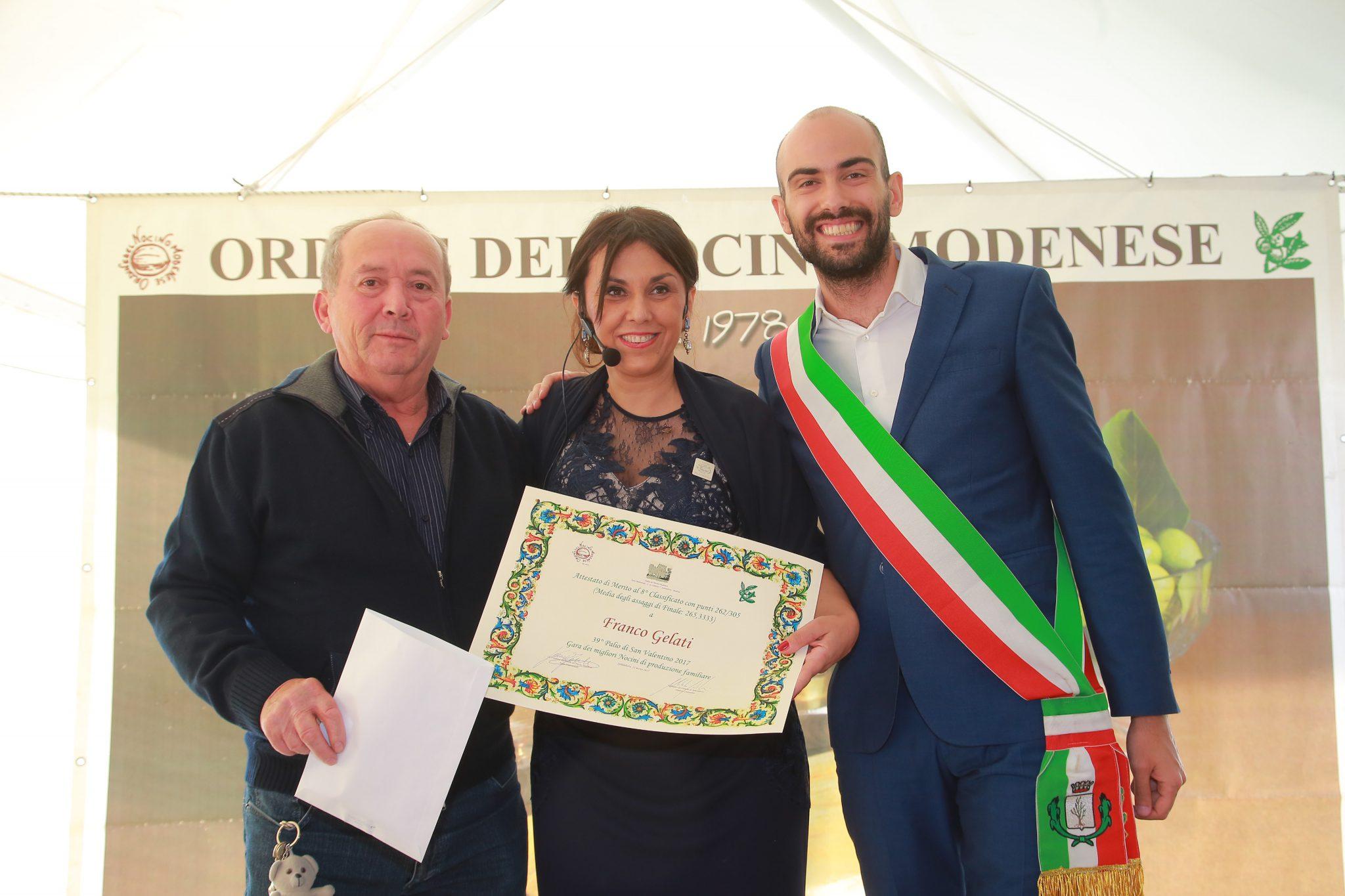 8° Classificato: Franco Gelati